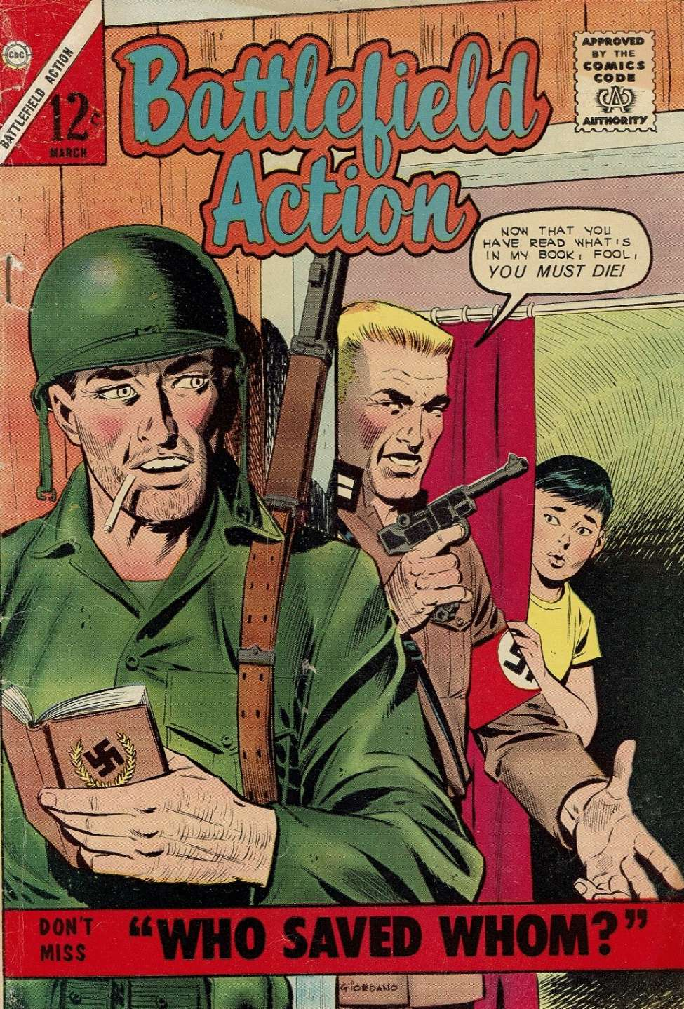 Comic Book Cover For Battlefield Action #46