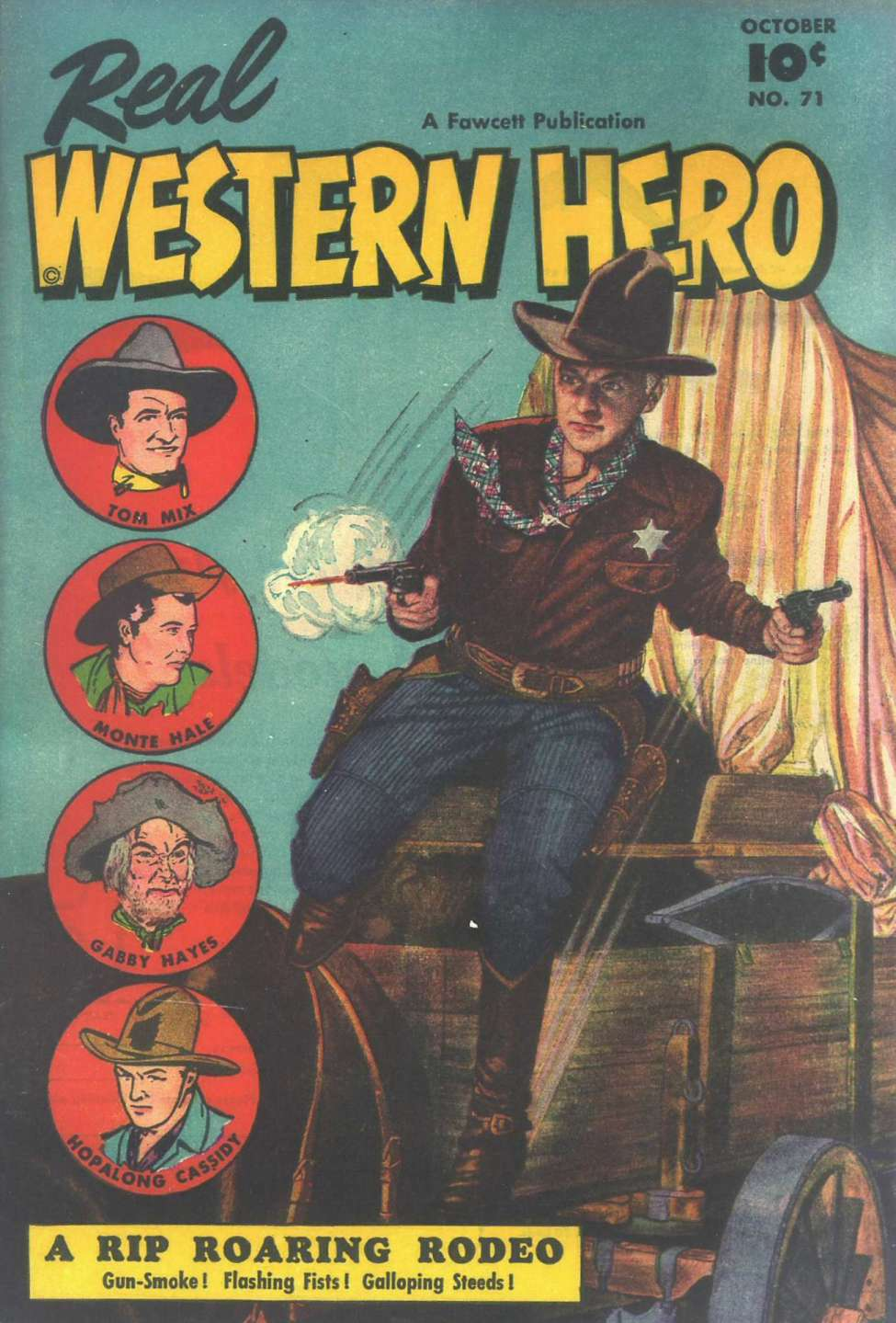 Comic Book Cover For Real Western Hero #71