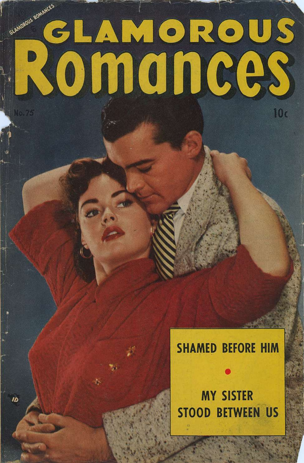 Comic Book Cover For Glamorous Romances #75
