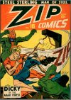 Cover For Zip Comics 16