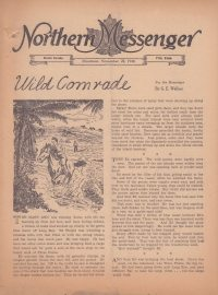 Large Thumbnail For Northern Messenger (1940-11-22)