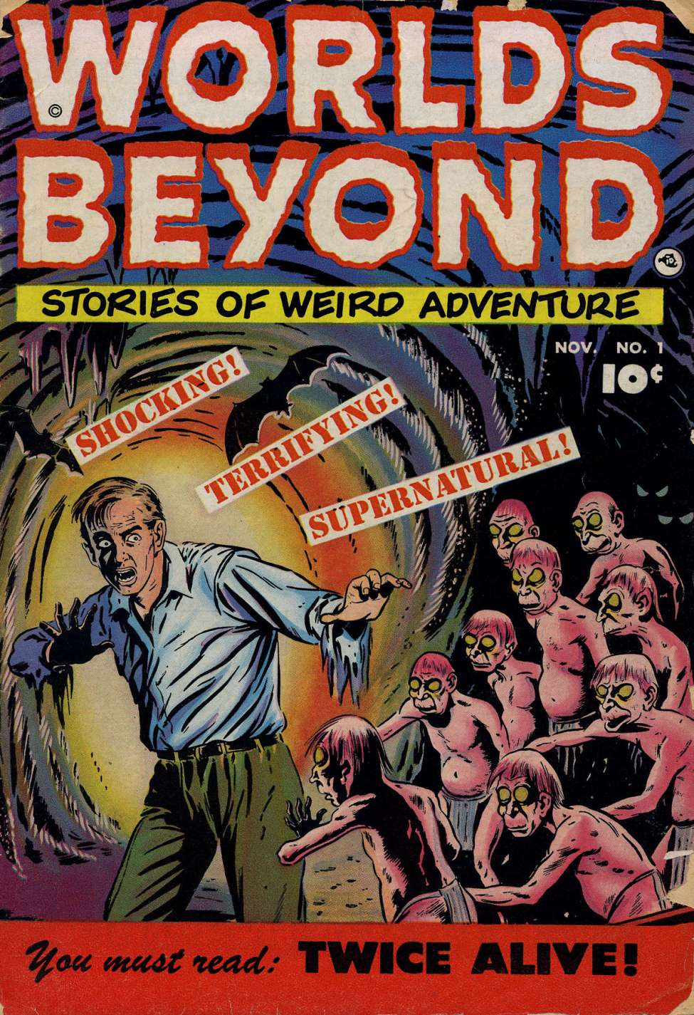 Comic Book Cover For Worlds Beyond #1