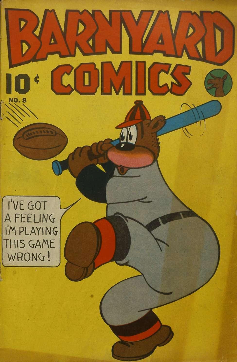 Comic Book Cover For Barnyard Comics #8