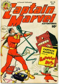 Large Thumbnail For Captain Marvel Adventures #84