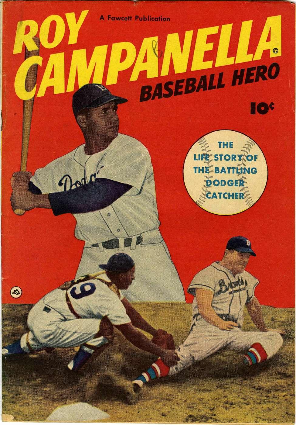 Comic Book Cover For Roy Campanella, Baseball Hero [nn]