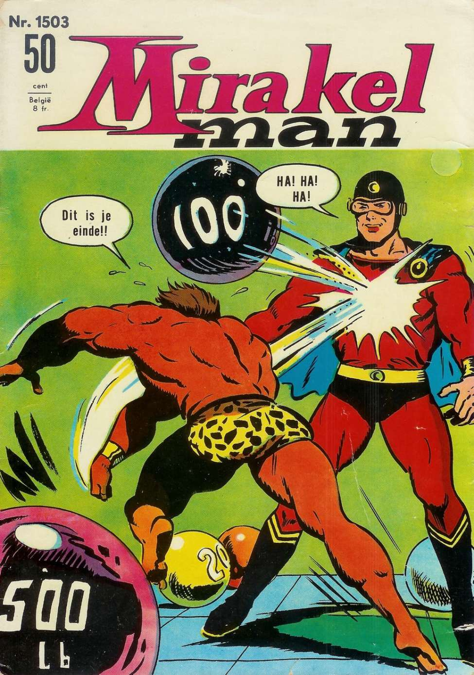 Comic Book Cover For Mirakelman #1503