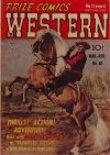Cover For Prize Comics Western 80