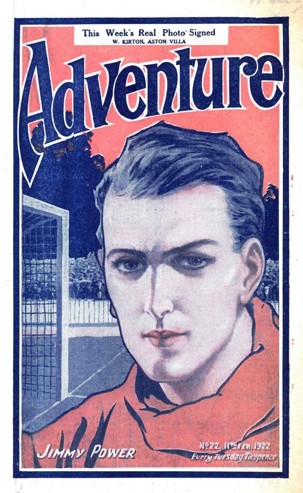 Comic Book Cover For Adventure 0022 - Champion Jim