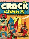 Cover For Crack Comics 12