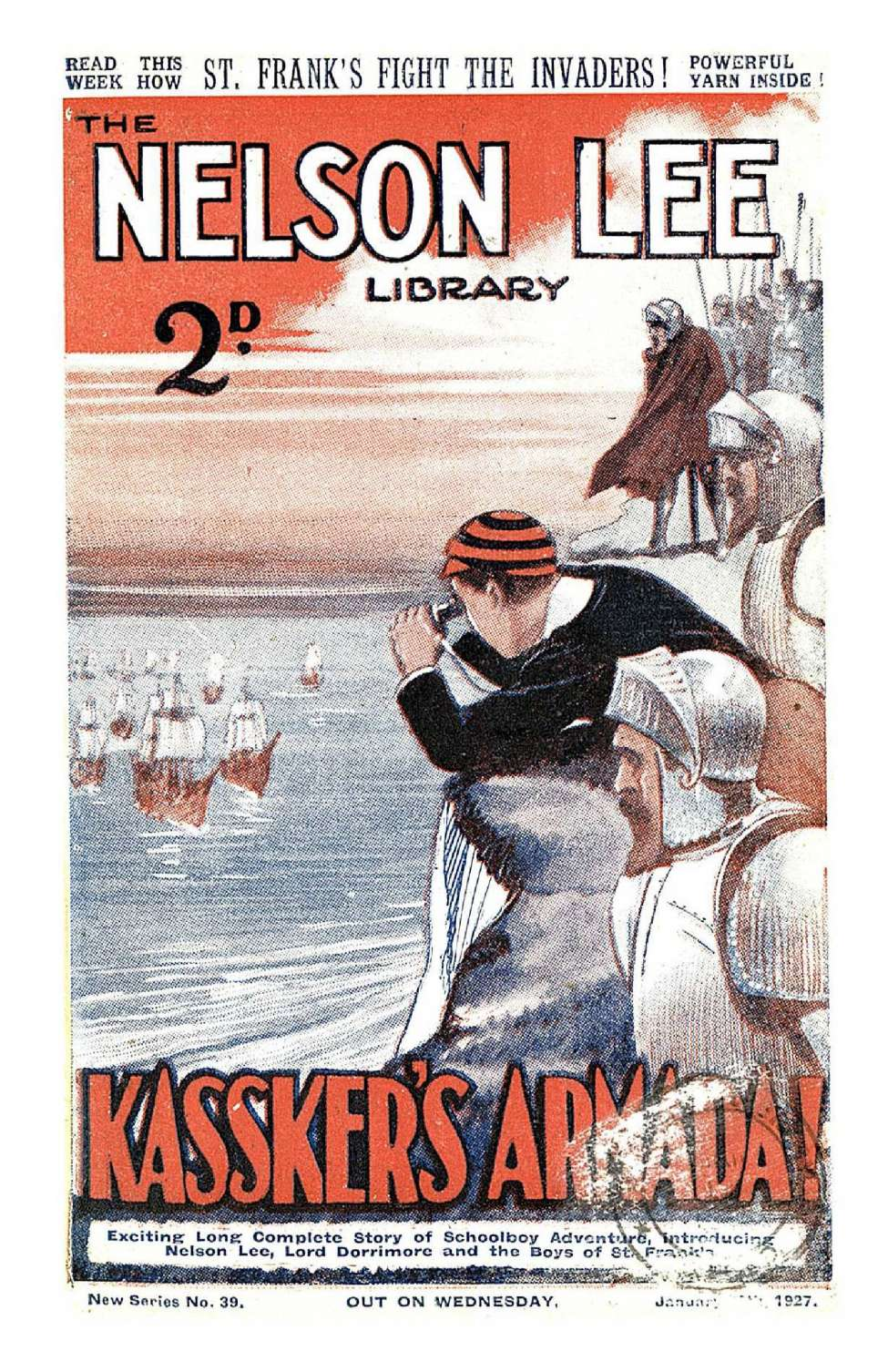 Comic Book Cover For Nelson Lee Library s2 039 - Kassker's Armada