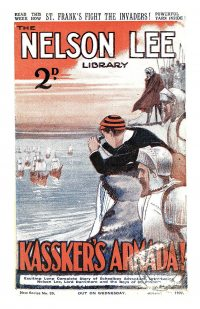 Large Thumbnail For Nelson Lee Library s2 039 - Kassker's Armada