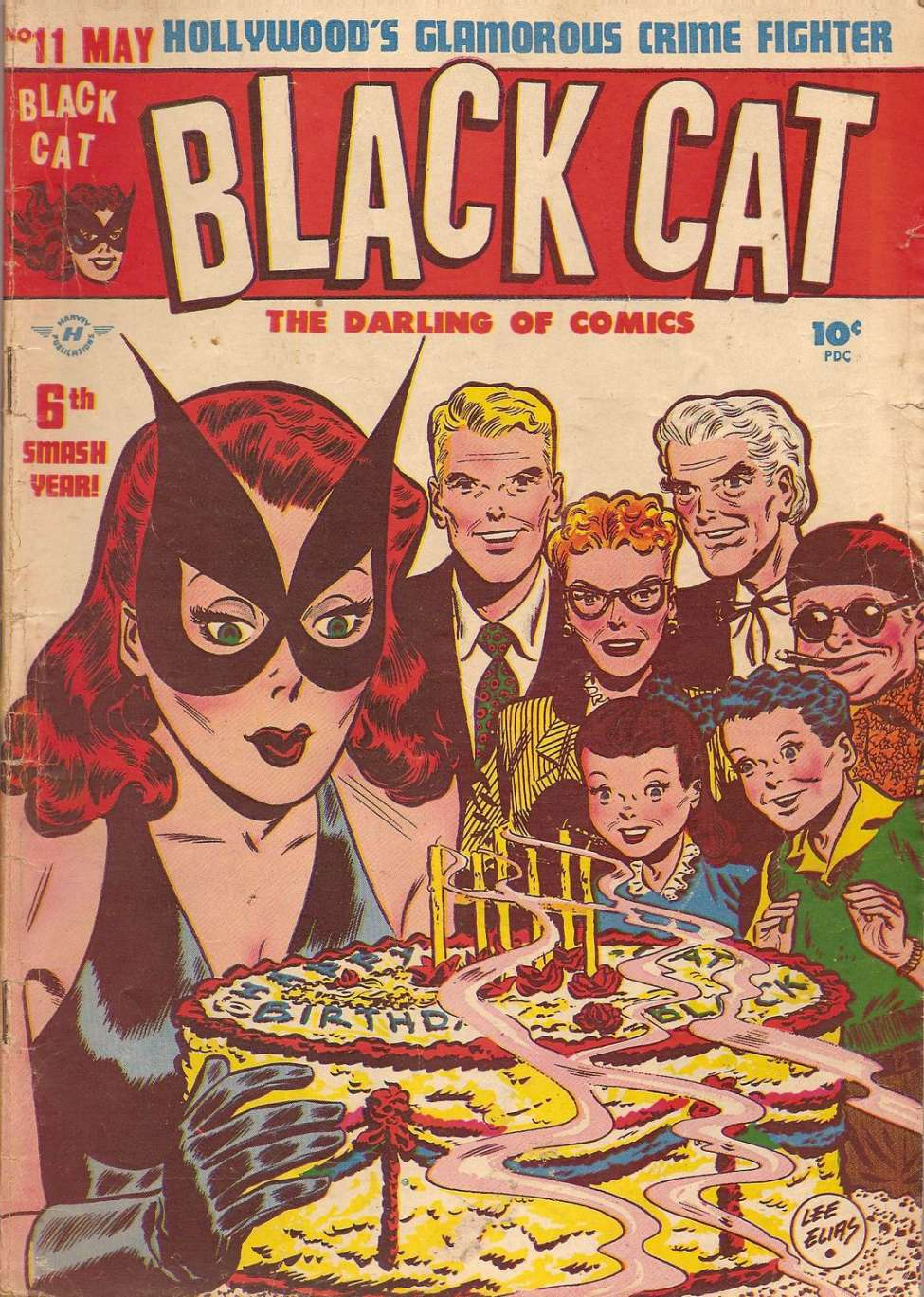 Comic Book Cover For Black Cat #11