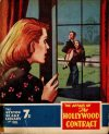 Cover For Sexton Blake Library S3 188 The Hollywood Contract