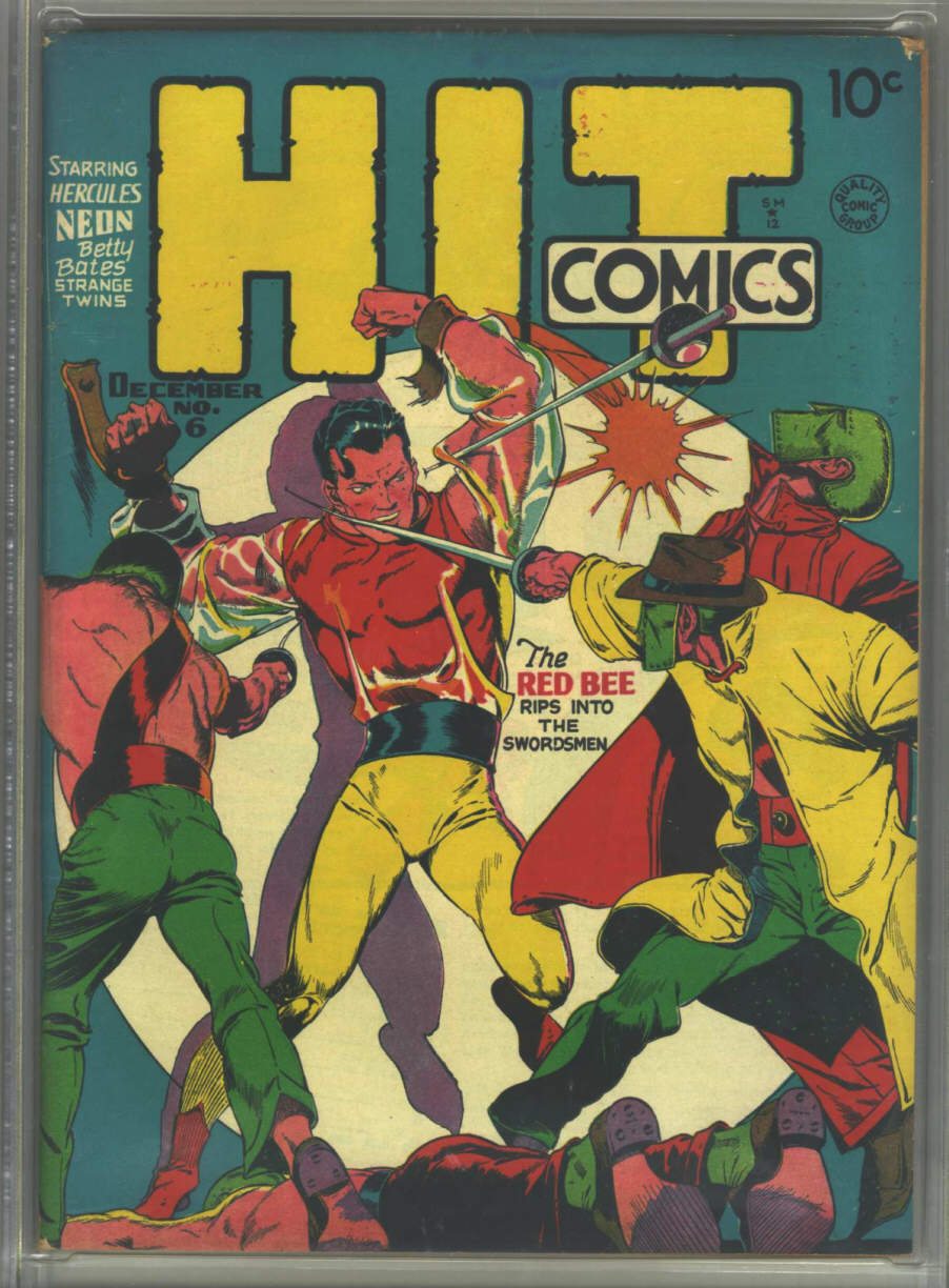 Comic Book Cover For Hit Comics #6