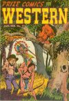 Cover For Prize Comics Western 97