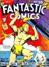 Cover For Fantastic Comics 12