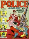 Cover For Police Comics 1