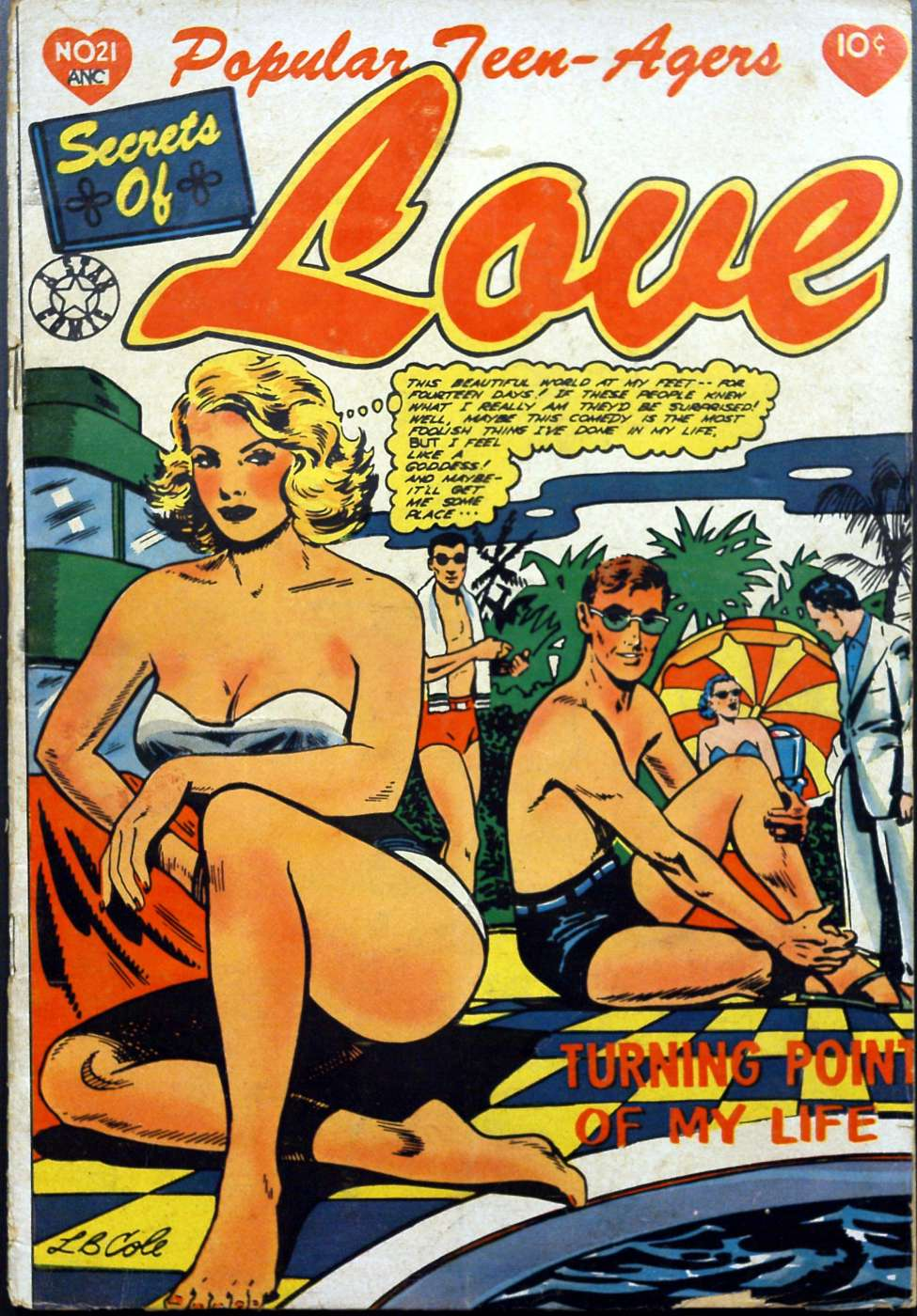 Comic Book Cover For Popular Teen-Agers #21