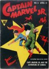 Cover For Captain Marvel Jr. 6