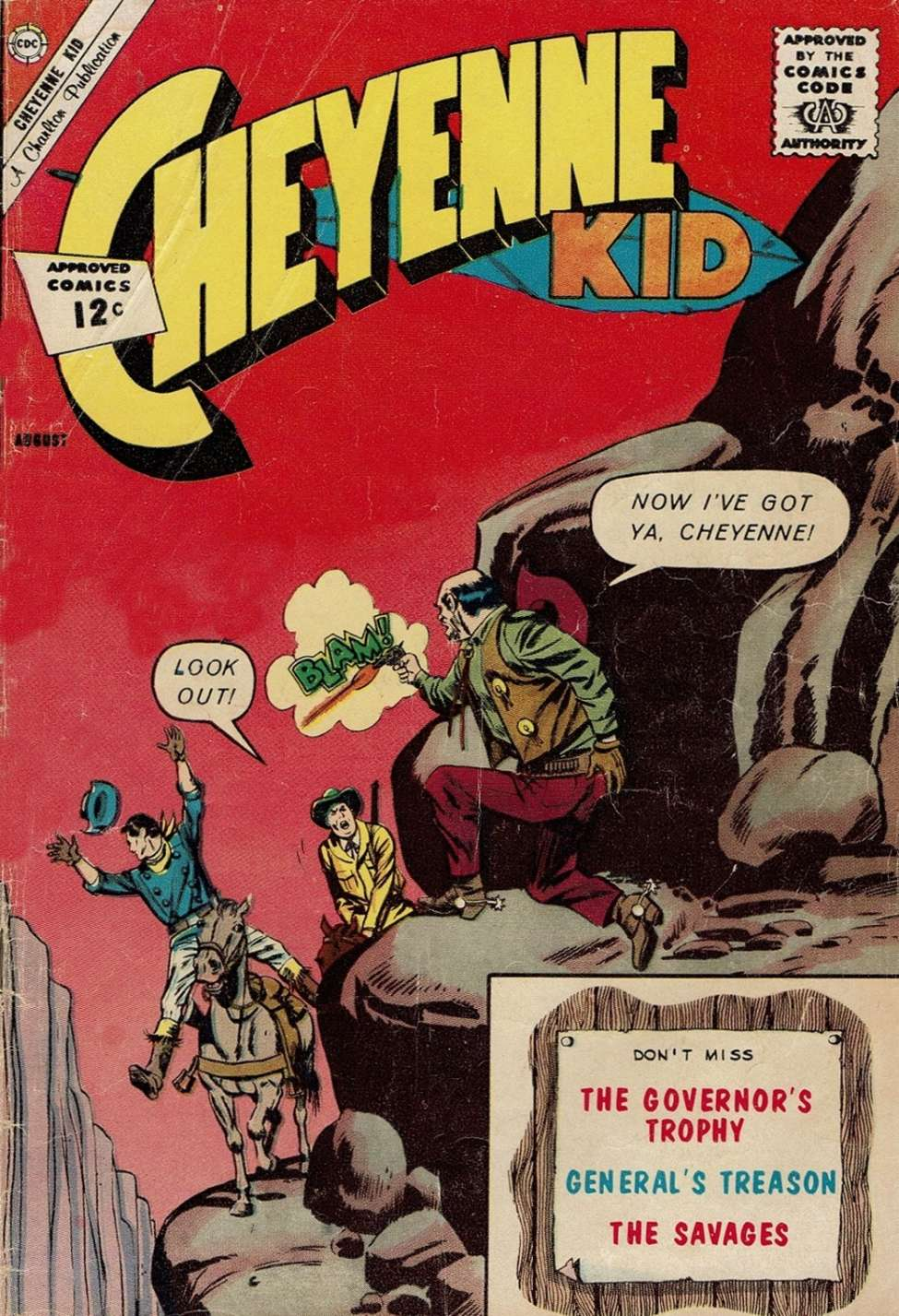 Comic Book Cover For Cheyenne Kid #35