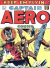 Cover For Captain Aero Comics 4
