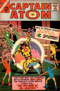 Large Thumbnail For Captain Atom #81