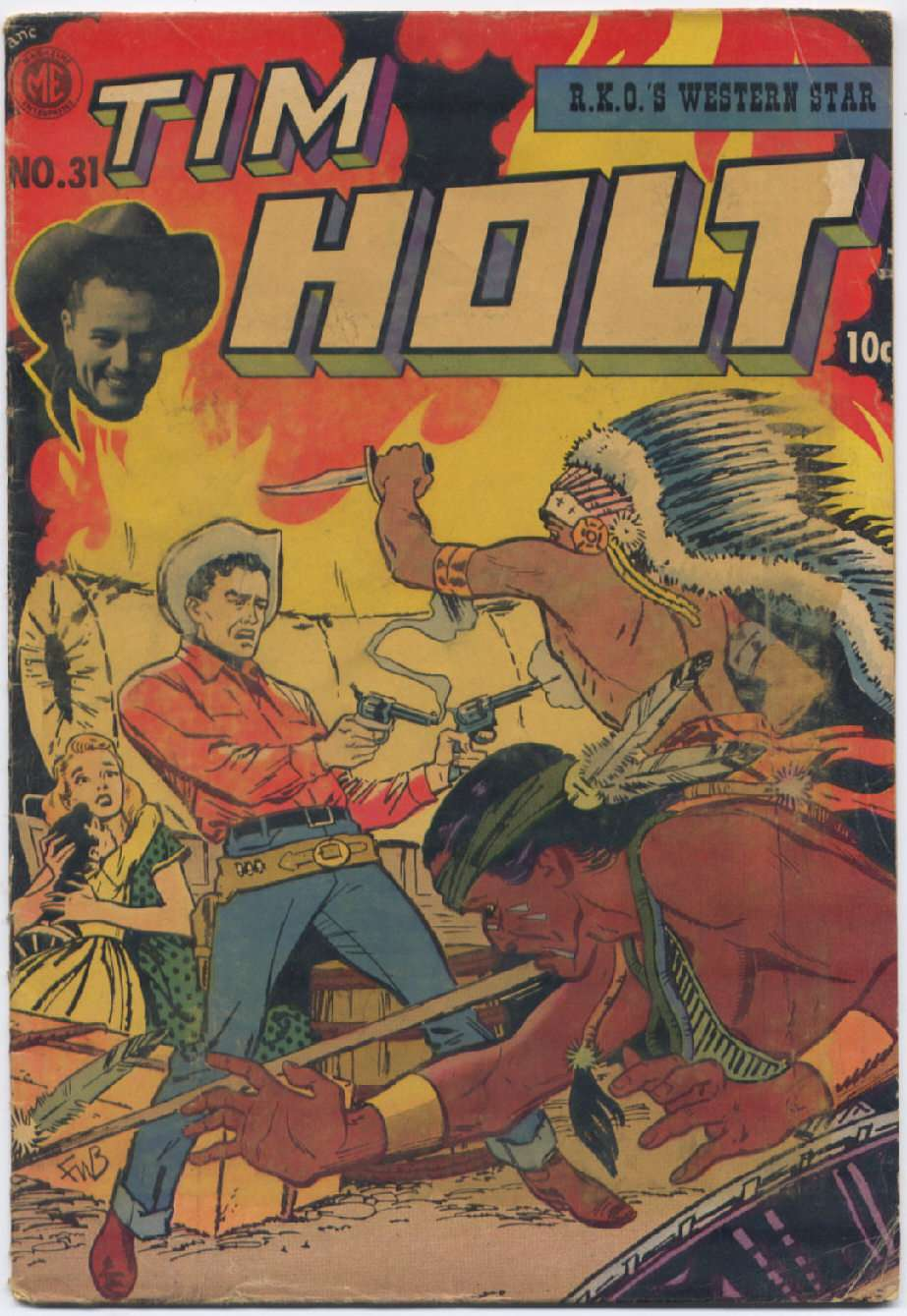 Comic Book Cover For Tim Holt #31