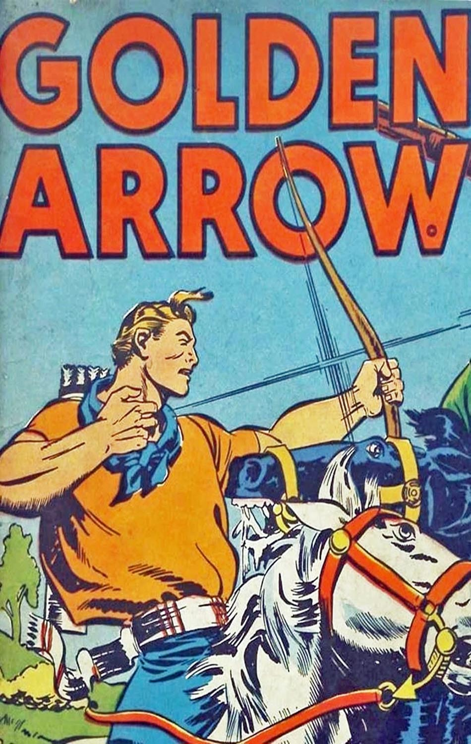 Comic Book Cover For Golden Arrow Archive Vol 16