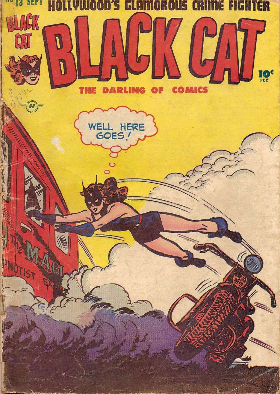 Comic Book Cover For Black Cat #13