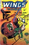 Cover For Wings Comics 115
