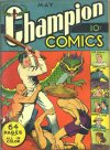 Cover For Champion Comics 7