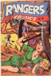 Large Thumbnail For Rangers Comics #63