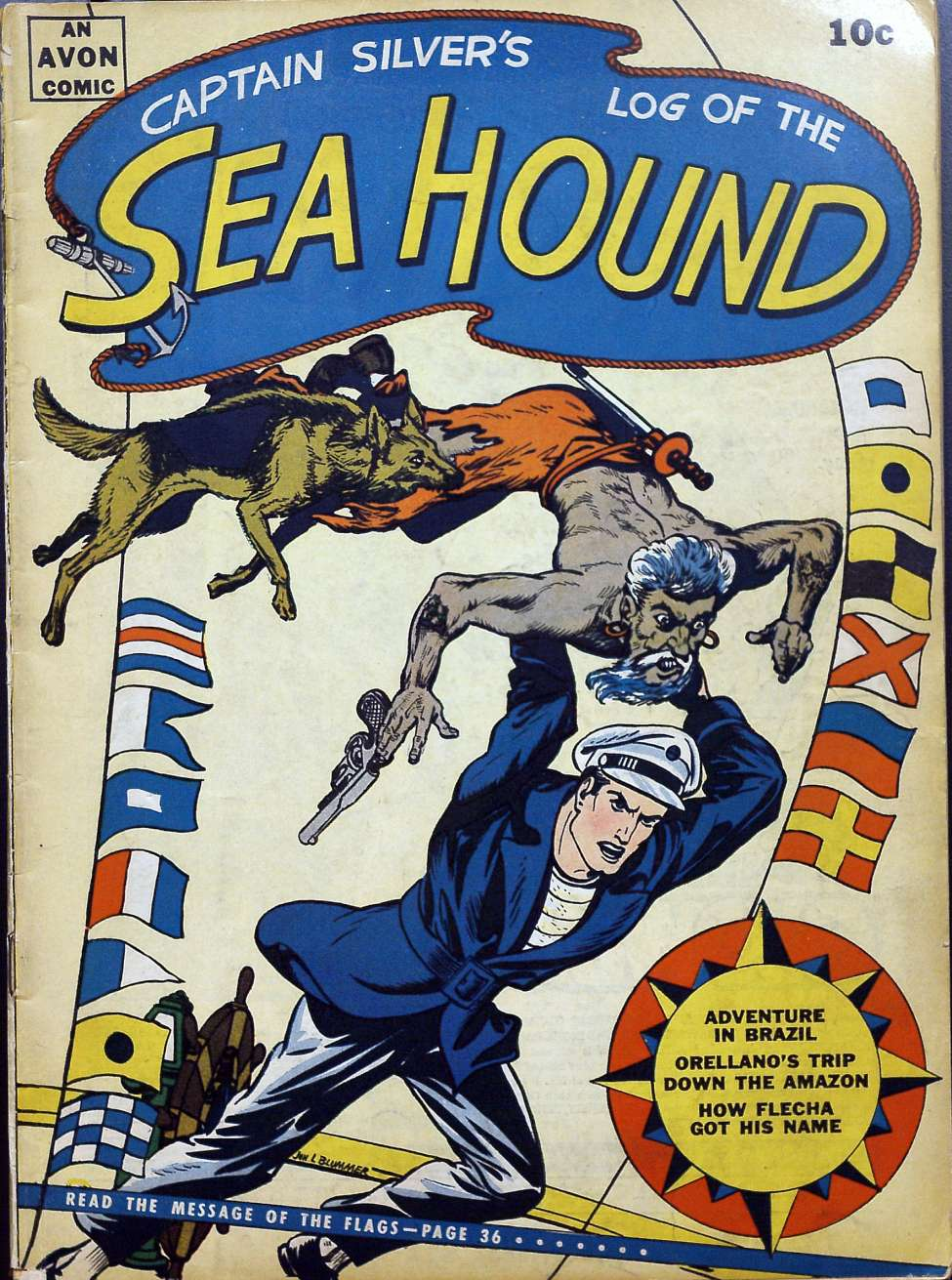 Comic Book Cover For Sea Hound #2