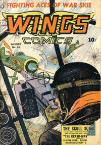 Large Thumbnail For Wings Comics #36