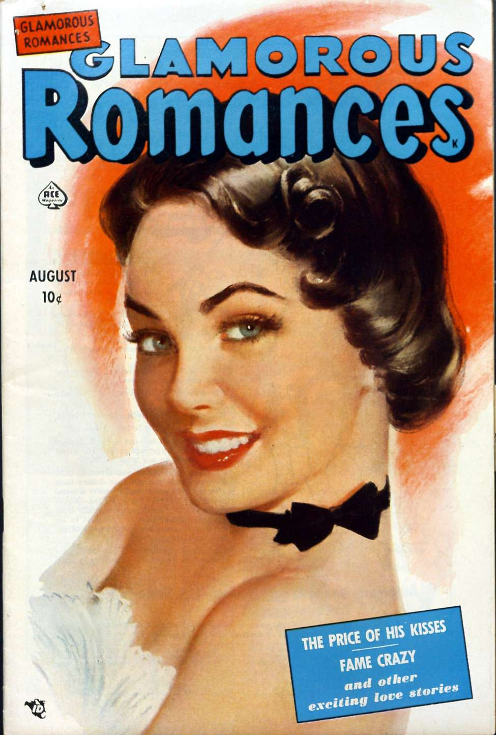 Comic Book Cover For Glamorous Romances #53 - Version 2