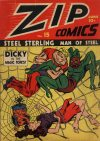 Cover For Zip Comics 15