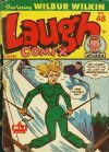 Cover For Laugh Comix 48