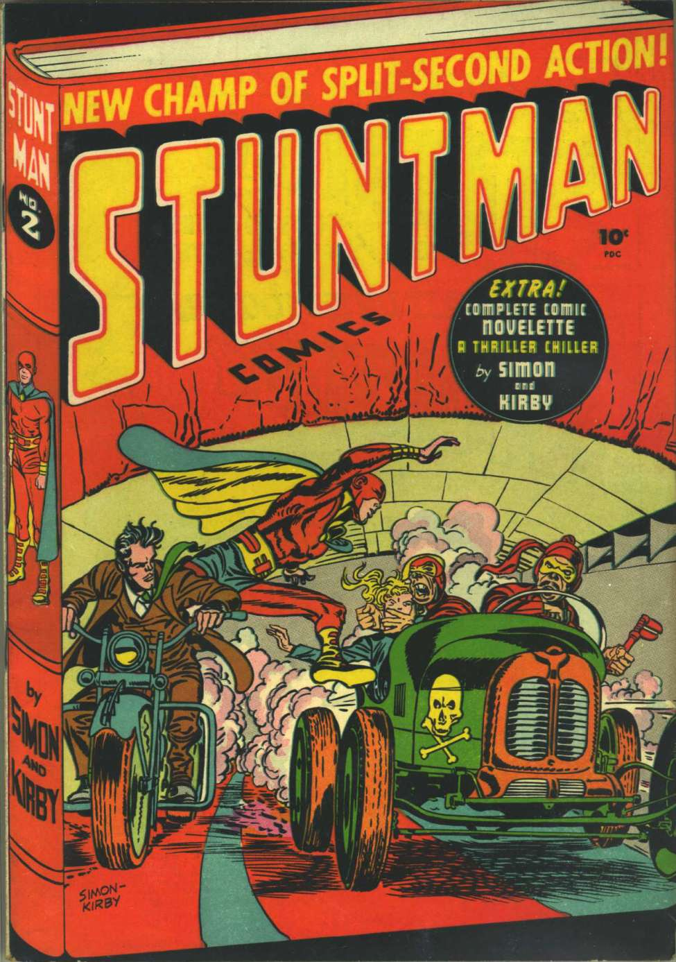 Comic Book Cover For Stuntman #2