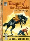 Cover For Treasure of the Brasada by Les Savage Jr.